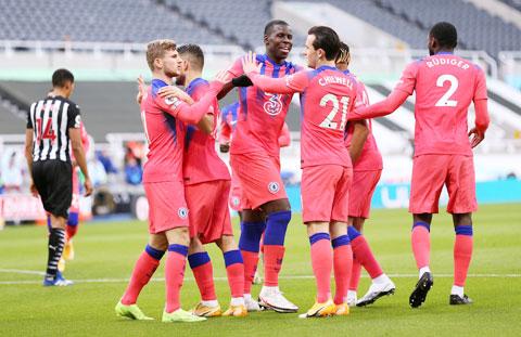 Niềm vui chiến thắng liên tiếp đến với các cầu thủ Chelsea trong thời gian gần đây