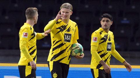 """Erling Haaland, """"Vàng mười"""" của Dortmund"""