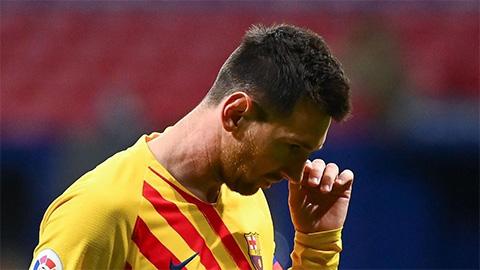 Barca không đăng ký Messi ở trận gặp Dynamo Kiev