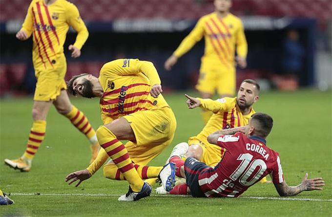 Barca mới giữ sạch lưới 2 trận ở La Liga mùa này