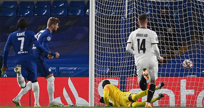 Chelsea từng thắng Rennes 3-0 ở trận lượt đi
