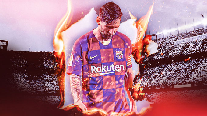 Messi đã chán ngấy việc ở lại Barca