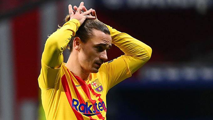Griezmann vẫn chưa đáp ứng được kỳ vọng tại Barca