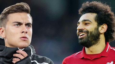 Juventus bán Dybala, săn Salah?