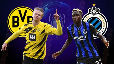 Nhận định kèo Dortmund vs Club Brugge: Dortmund thắng kèo châu Á