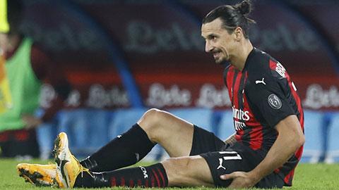 Đang thăng hoa, Ibrahimovic phải nghỉ thi đấu 1 tháng