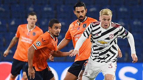 Trực tiếp M.U vs Istanbul BB, 03h00 ngày 25/11