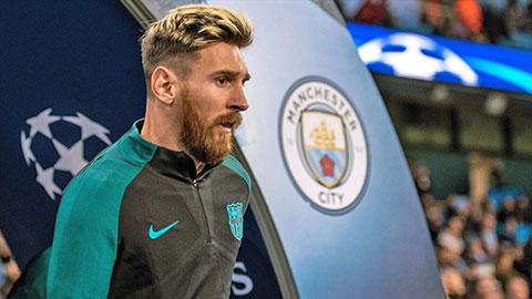 Man City không quan tâm Messi, nhắm mục tiêu của M.U