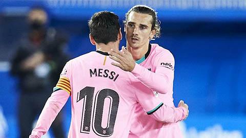 Griezmann thừa nhận từng làm Messi tổn thương