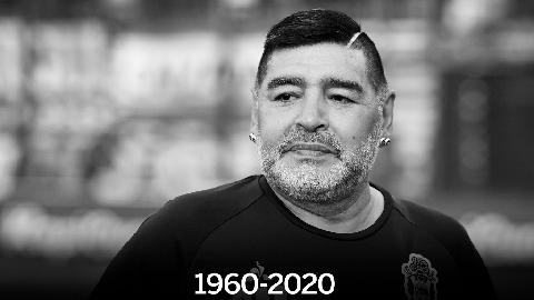 SỐC: Huyền thoại Maradona qua đời ở tuổi 60