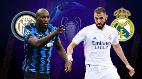 Trận cầu vàng Inter vs Real: Khách thắng kèo châu Á