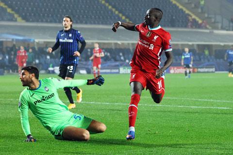 Sadio Mane sẽ lại xé lưới Atalanta để giúp Liverpool sớm giành vé vào vòng 1/8