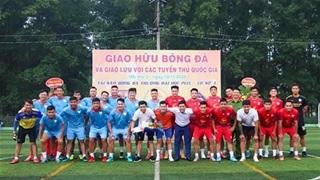 Tiến Linh, Anh Đức 'thị phạm' lớp bóng đá cộng đồng của Sỹ Mạnh, Quang Thanh
