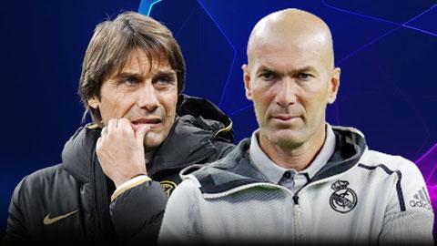 Inter Milan vs Real Madrid: Trận đấu khiến cả Conte lẫn Zidane đều sợ hãi
