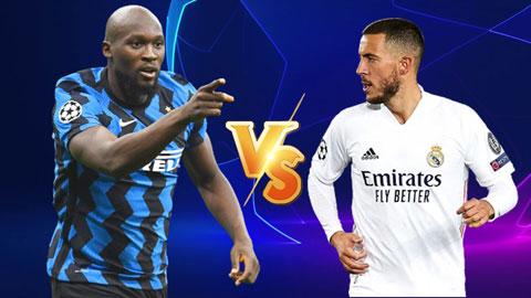 Inter Milan vs Real Madrid: Trọng trách trên vai những 'chú quỷ' Lukaku và Hazard