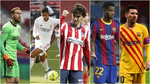 Đội hình 11 cầu thủ đắt giá nhất La Liga