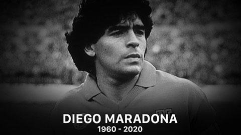 Vĩnh biệt Diego Maradona, huyền thoại bất tử