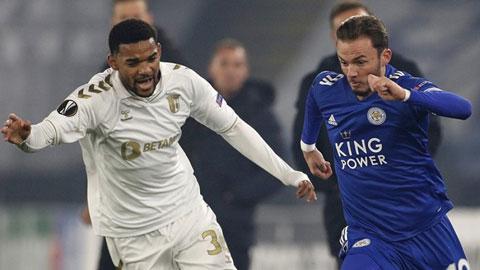 Leicester (áo xanh) sẽ lại đánh bại Braga trong lần tái ngộ để khẳng định vị thế số 1 ở bảng đấu