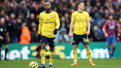 Arsenal: Lacazette cần tìm lại sự tự tin