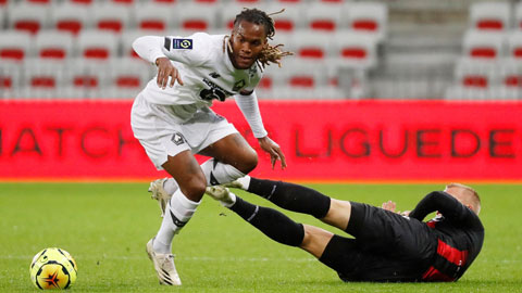 Đang có phong độ cực cao, chủ nhà Lille (áo trắng) hoàn toàn có thể giành trọn 3 điểm trước đối thủ mạnh Milan