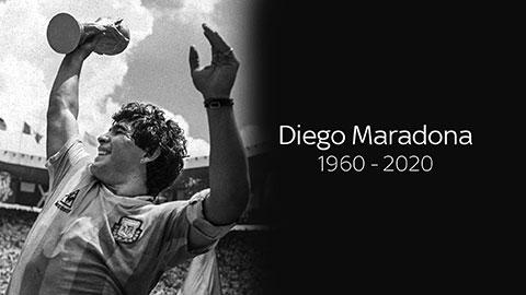 Maradona xứng đáng với những lời tôn vinh đẹp nhất