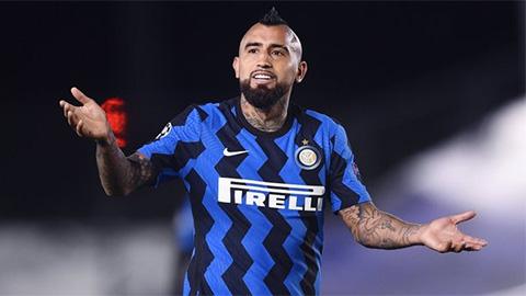 Điểm nhấn Inter 0-2 Real: Chủ nhà 'chết' vì Vidal