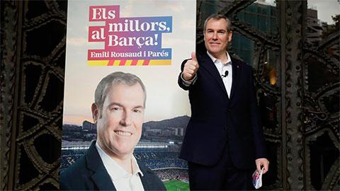 Ứng viên chủ tịch từng bị Bartomeu sa thải muốn đưa 2 sao lớn về Barca