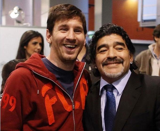 Messi chia buồn sau cái chết của Maradona