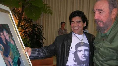 Maradona và Fidel Castro mất trùng ngày: Mối giao tình giữa hai vĩ nhân