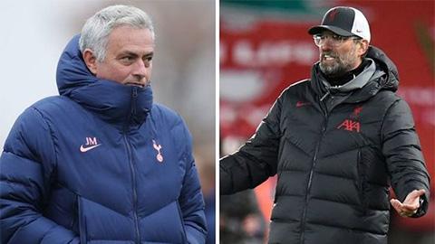 Mourinho thách thức Klopp bớt than phiền về lịch thi đấu