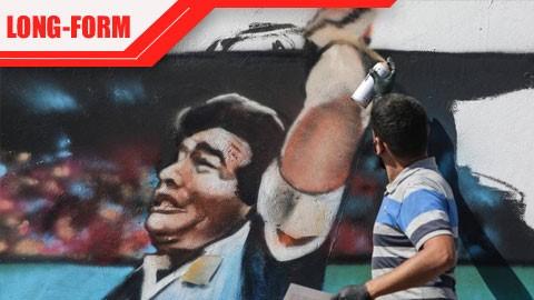 Diego Maradona đã đi bóng qua khung thành Sinh Tử
