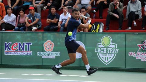 Lý Hoàng Nam vào tứ kết đơn nam VTF Masters 500-2 năm 2020