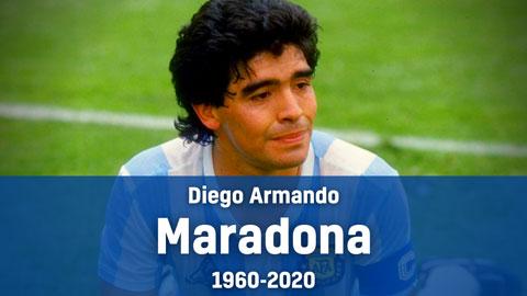 Chủ tịch VFF gửi thư chia buồn tới gia đình Diego Maradona
