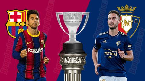 Nhận định bóng đá Barcelona vs Osasuna, 20h00 ngày 29/11