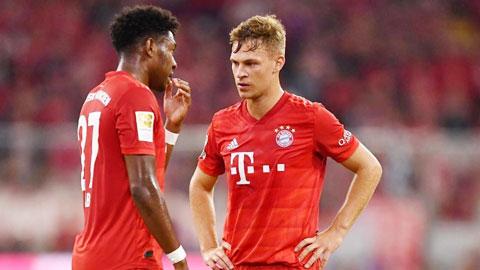 Bayern vẫn có vấn đề ở hàng thủ