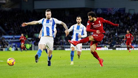 Salah và đồng đội sẽ đánh bại Brighton để quên đi trận thua tệ hại trước Atalanta hôm giữa tuần
