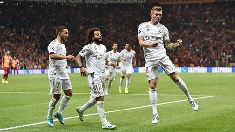 5 trận gần nhất đón tiếp Alaves, Real đều có chiến thắng đậm đà
