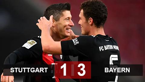Kết quả Stuttart 1-3 Bayern: Thắng ngược Stuttart, cỗ máy Bayern tăng tốc - xổ số ngày 24032020