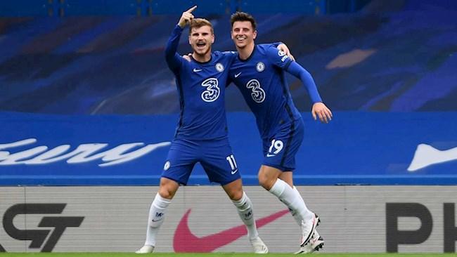 Werner và Mount thể hiện hoàn hảo mong muốn của Lampard
