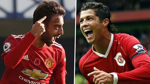 Bruno Fernandes liệu đã thành công tại M.U như Ronaldo?