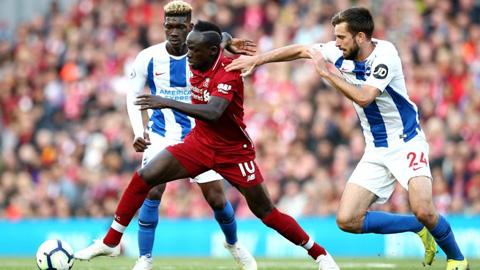 Trực tiếp Brighton vs Liverpool, 19h30 ngày 28/11