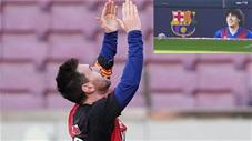 Ghi tuyệt phẩm, Messi liền dành tặng bàn thắng cho Maradona