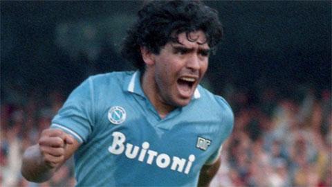 Napoli trình làng áo đấu đặc biệt tri ân Maradona