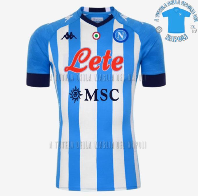 Ý tưởng mẫu áo đấu thứ 4 của Napoli