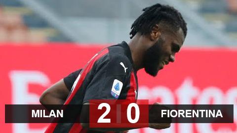 Kết quả Milan 2-0 Fiorentina: 'Toure mới' tỏa sáng thay Ibra, Milan bỏ xa Juventus 6 điểm - giá vàng 9999 hôm nay 109