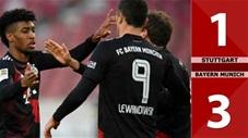 Stuttgart 1-3 Bayern Munich (Vòng 9 Bundesliga 2020/21)