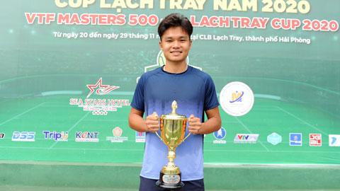 Quang Hải dự khán chung kết VTF Masters 500-2 năm 2020: Lý Hoàng Nam bại trận, Trịnh Linh Giang đăng quang vô địch