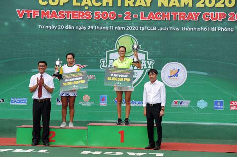 Sĩ Bội Ngọc (Quân đội) vô địch đơn nữ VTF Masters 500-2 năm 2020