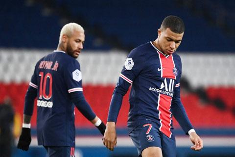 Các cầu thủ PSG thất vọng với chính mình sau trận đấu với Bordeaux mới đây