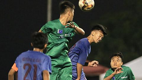 Học viện NutiFood lập kỷ lục thắng trận ở VCK cho lứa tuổi 17